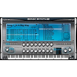 IK Multimedia IK Sonik Synth 2 Software Download (1049-17)