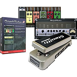 IK Multimedia StealthPedal Audio Interface/Controller + AmpliTube 2 Guitar Amp and Effects Modeling Plug-In (USED004000 CB-SPDAT2-HCD-)