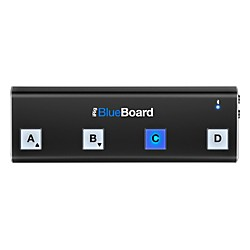 IK Multimedia iRig BlueBoard Bluetooth Wireless MIDI Footcontroller for iOS and Mac (USED004000 IP-IRIG-BBRD-I)