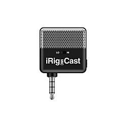 IK Multimedia iRig Mic Cast Voice Recording Mic For iPhone/iPod Touch/iPad (IP-IRIG-CAST-IN)