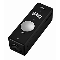 IK Multimedia iRig Pro Audio/Midi interface for iOS and Mac (IP-IRIG-PRO-IN)