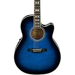 Ibanez AEF30E Acoustic-Electric Guitar (AEF30ETBS)