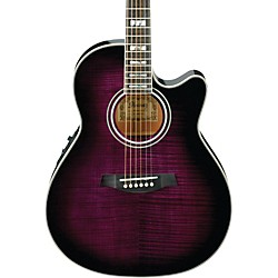 Ibanez AEF30E Acoustic-Electric Guitar (AEF30ETVS)