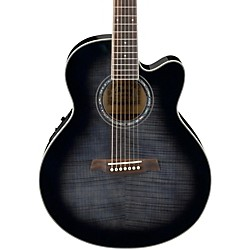 Ibanez AEL207E 7-String Acoustic-Electric Guitar (AEL207ETKS)