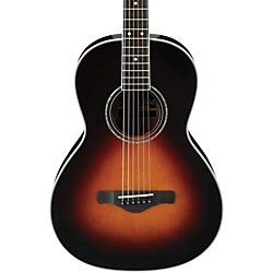 Ibanez AVN1BS Artwood Vintage Parlor Acoustic Guitar (AVN1BS)