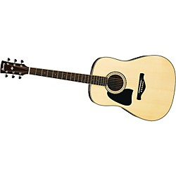 Ibanez AW300 Artwood Solid Top Dreadnought Left-Handed Acoustic Guitar (AW300LNT)