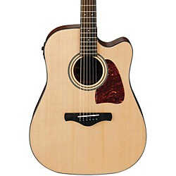 Ibanez AW400C Artwood Solid Top Dreadnought Acoustic-Electric Guitar (AW400CENT)