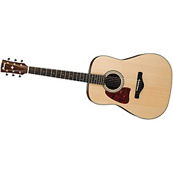 Ibanez AW400LNT Artwood Solid Top Dreadnought Left-Handed Acoustic Guitar (AW400LNT)
