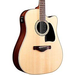 Ibanez AW535CENT Artwood Solid Top Dreadnought Acoustic-Electic Guitar (AW535CENT)