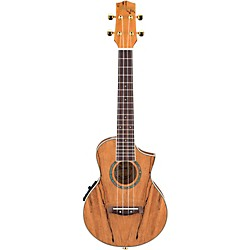 Ibanez EW Cutaway Concert Acoustic-Electric Ukulele With Bag (UEW20SME)