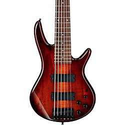 Ibanez GSR206SM 6-String Electric Bass Guitar (GSR206SMCNB)