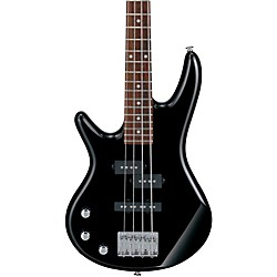 Ibanez GSRM20L Mikro Left-Handed 4-String Short Scale Bass Guitar (GSRM20BKL)
