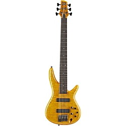 Ibanez Gerald Veasley Signature 6-String Electric Bass Guitar- (GVB1006AM)