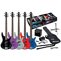 Ibanez IJXB150B Jumpstart Bass Package (IJXB150BSV)