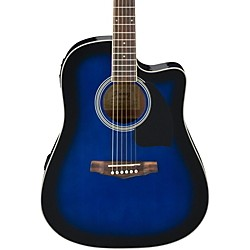 Ibanez Performance Series PF15 Cutaway Dreadnought Acoustic-Electric Guitar (PF15ECETBS)
