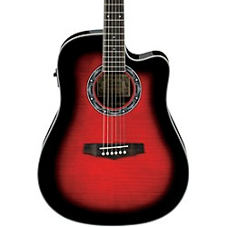 Ibanez Performance Series PF28ECE Acoustic-Electric Guitar (PF28ECETRS)