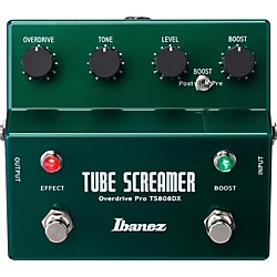 Ibanez Tube Screamer TS808DX Guitar Effects Pedal (TS808DX)