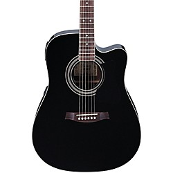 Ibanez V70CE Acoustic-Electric Guitar (V70CEBK)