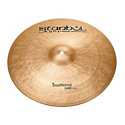 Istanbul Agop Traditional Dark Crash Cymbal (DC19)
