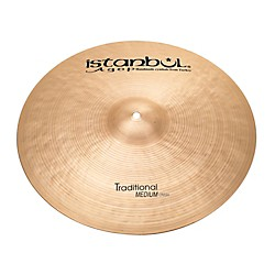 Istanbul Agop Traditional Medium Crash (MC20)