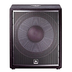 JBL JRX218S 18 passive compact subwoofer with 1400W peak power handling (JRX218S)