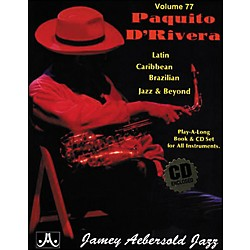 Jamey Aebersold (Vol. 77) Paquito D'Rivera (V77DS)