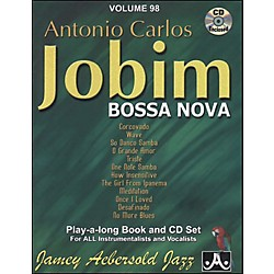 Jamey Aebersold Antonio Carlos Jobim - Bossa Nova Book and CD (V98DS)