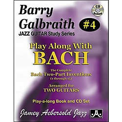 Jamey Aebersold Barry Galbraith Play Along with Bach Book/CD (BG4)