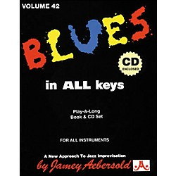 Jamey Aebersold Blues In All Keys Book and CD (V42DS)