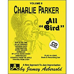 "Jamey Aebersold Charlie Parker-All""Bird"" Book and CD (V06DS)"
