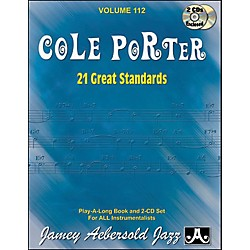 Jamey Aebersold Cole Porter Play-Along Great Standards Book and CDs (V112DS)