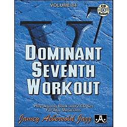Jamey Aebersold Dominant Seventh Workout Book and CDs (V84DS)