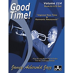 Jamey Aebersold Good Time Play-Along Book and 4 CD Set (V114DS)