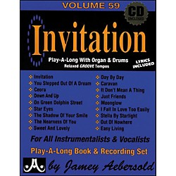 Jamey Aebersold Invitation Book and CD (V59DS)