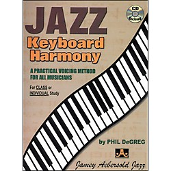 Jamey Aebersold Jazz Keyboard Harmony Book and CD (JKH)