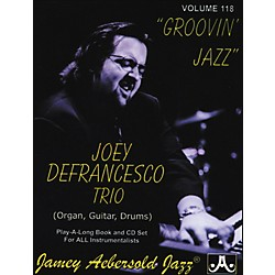 Jamey Aebersold Joey Defrancesco Groovin' Jazz Play-Along Book and CD (V118DS)