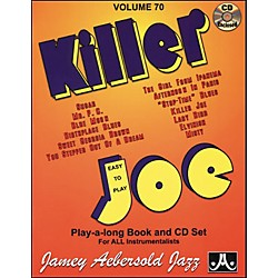 Jamey Aebersold Killer Joe Play-Along Book with CD (V70DS)