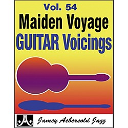 Jamey Aebersold Maiden Voyage Guitar Voicings Play-Along Book and CD (MVG)