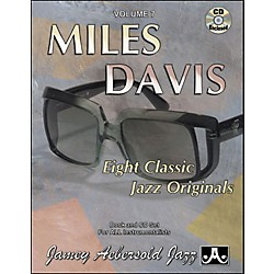 Jamey Aebersold Miles Davis Book and CD (V07DS)