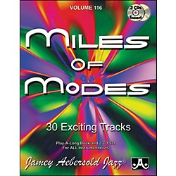 Jamey Aebersold Miles of Modes Play-Along Book and CDs (V116DS)
