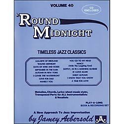 Jamey Aebersold Round Midnight (V40DS)