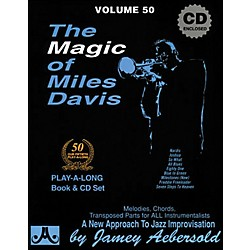 Jamey Aebersold The Magic of Miles Davis Play-Along Book and CD (V50DS)