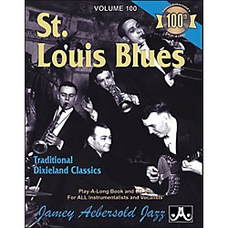 Jamey Aebersold Vol. 100 St. Louis Blues (V100DS)