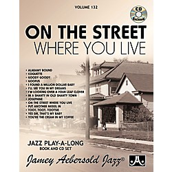 Jamey Aebersold Vol. 132 - On The Street Where You Live (V132DS)