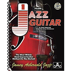 Jamey Aebersold Volume 1 For Jazz Guitar (V01G)