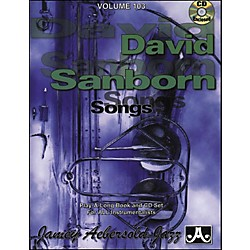 Jamey Aebersold Volume 103 - David Sanborn - Play-Along Book and CD Set (V103DS)