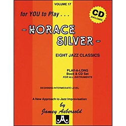 Jamey Aebersold Volume 17 - Horace Silver - Book and CD Set (V17DS)