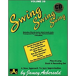Jamey Aebersold Volume 39 - Swing, Swing, Swing - Book and CD Set (V39DS)