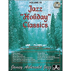 Jamey Aebersold Volume 78 - Jazz Holiday Classics - Play-Along Book and CD Set (V78DS)