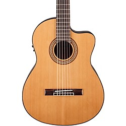 Jasmine JC-27 Solid Top Cutaway Classical Guitar (JC27CE-NAT_136395)